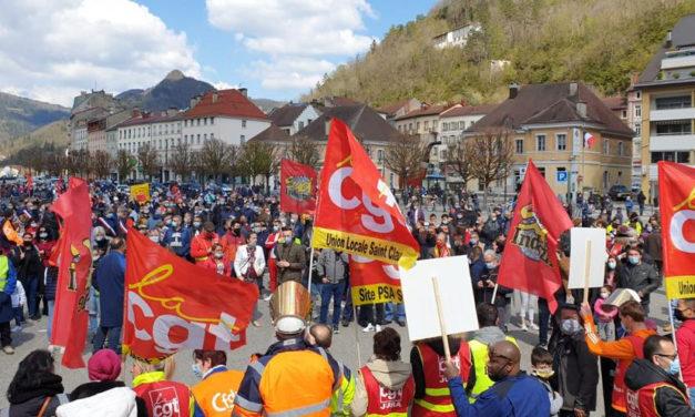Fonderie MBF : la mobilisation prend de l'ampleur