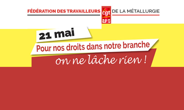 21 mai : imposons nos revendications
