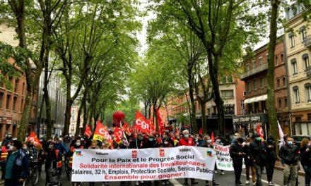 1er mai à Toulouse