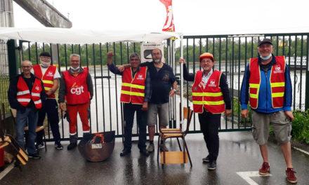 ArcelorMittal, centres de services,  Ottmarsheim (68) : grève !