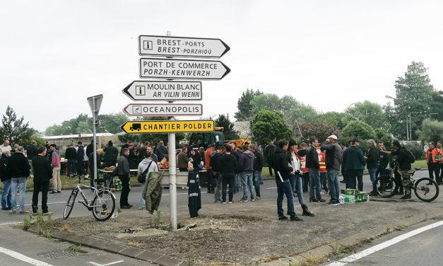 Brest, mobilisation d'ampleur, 30 juin 2021
