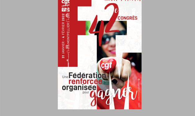 Affiche du 42e congrès, 2022