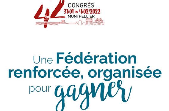 Document préparatoire, édition congrès 2022