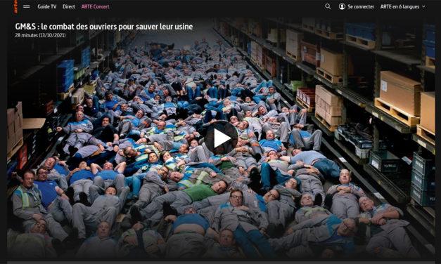 Arte : GM&S, le combat des ouvriers pour sauver leur usine28 minutes (13/10/2021)