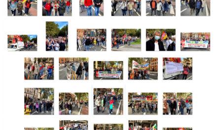 1er octobre, forte mobilisation des retraités